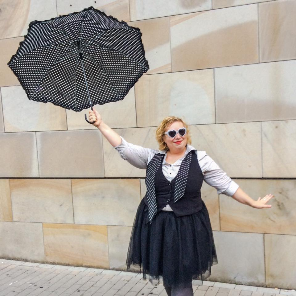 Black Swan: Tulle, Stripes and Polka Dots