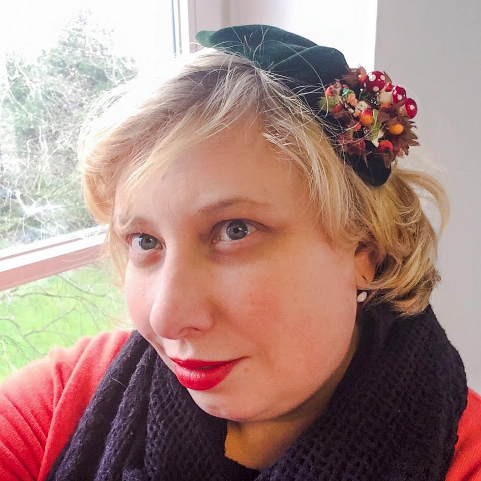 Miss Kittenheel vintage plussize style