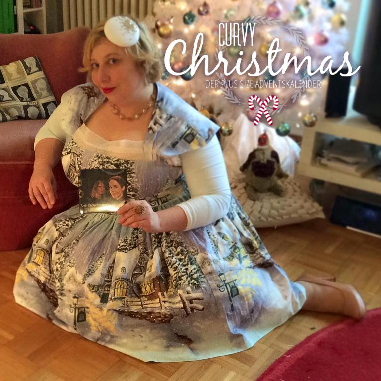 Miss Kittenheel vintage plussize style Curvy Christmas Winterwonderland