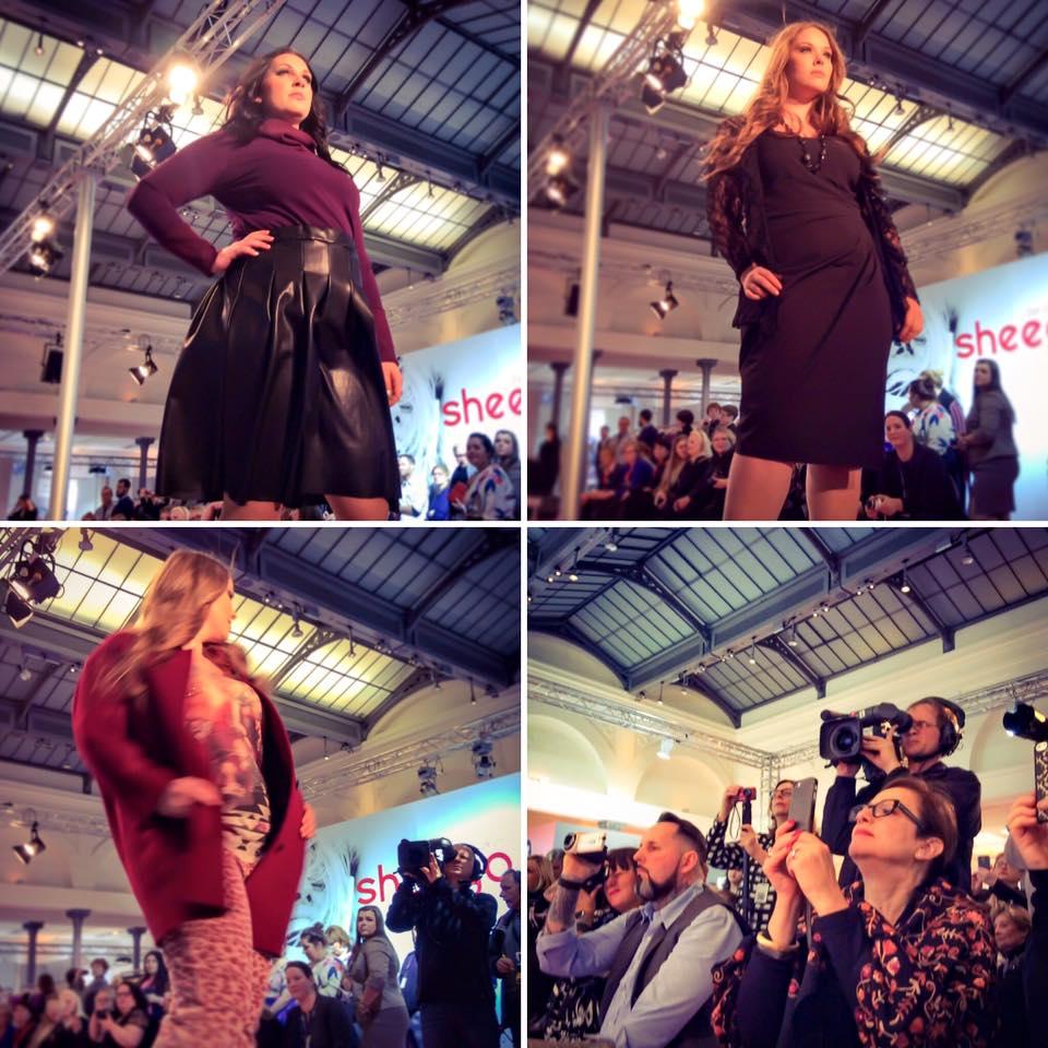 Miss Kittenheel MBFW16 Curvy FashionWeek Berlin 2016 runway show
