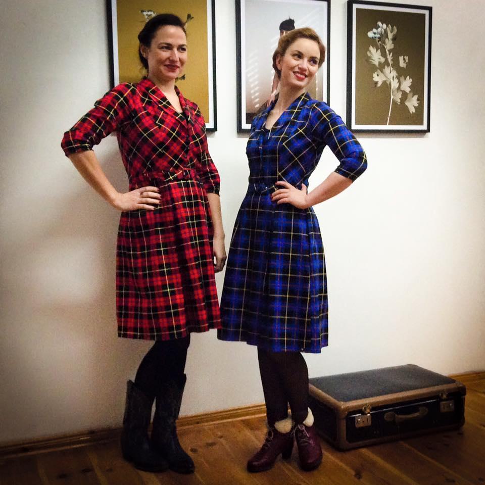 Miss Kittenheel vintage plussize style Vintagemädchen MlleTambour