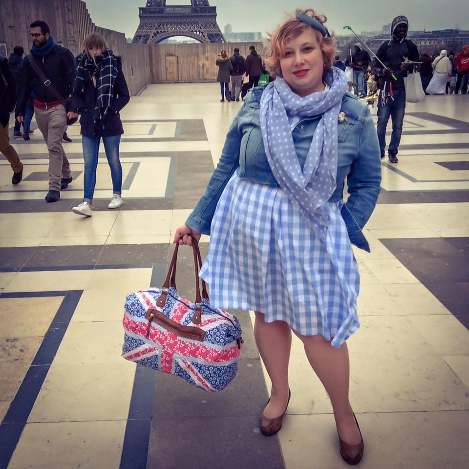 misskittenheel vintage curvy plussize bethditto collection-paris-diyyourcloset cropped denim jacket 03