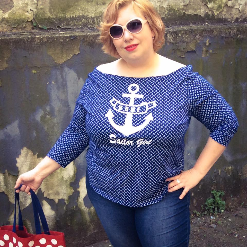 misskittenheel vintage curvy plussize DIYyourCloset Sheego SailorGirl 03