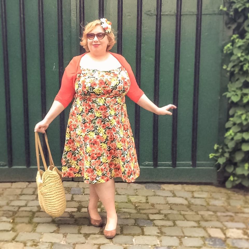 misskittenheel vintage plussize pinup modejahr2016 sommerfarben fascinator fruit 03