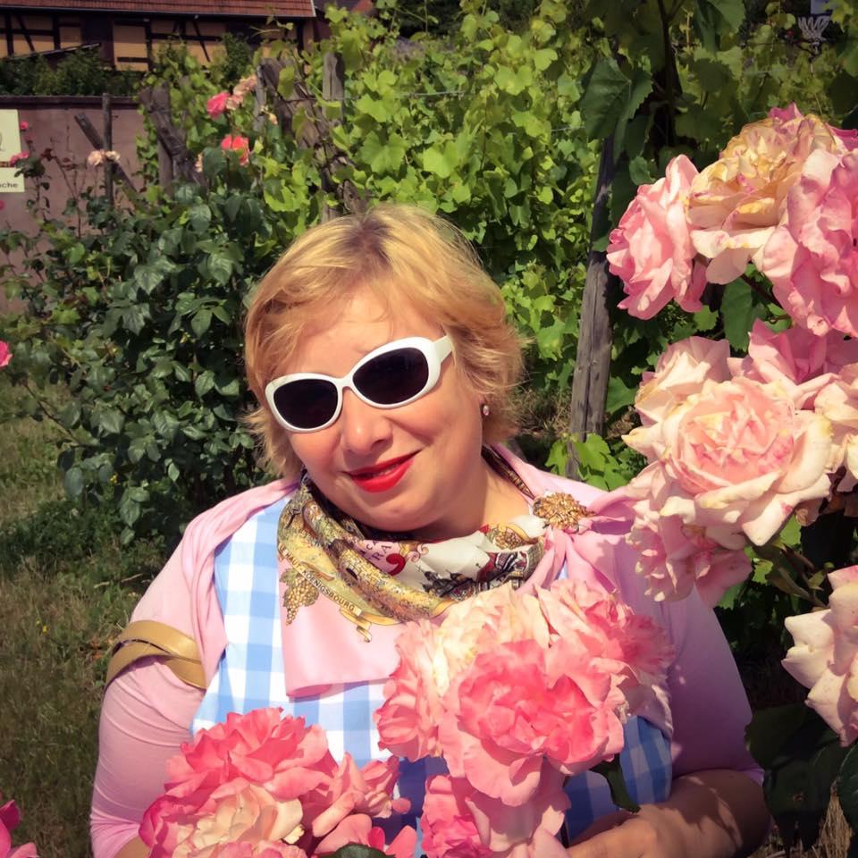 MissKittenheel Alsace Itterswiller babyblue Gingham Check Dress LindyBop Colette 14