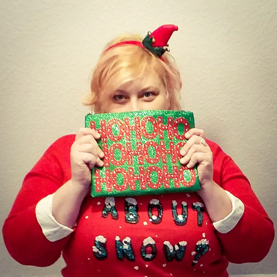 French Curves Sparkle With Ugly Christmas Sweater